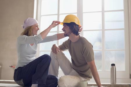 Heimwerken und Bauen auf Raten zahlen